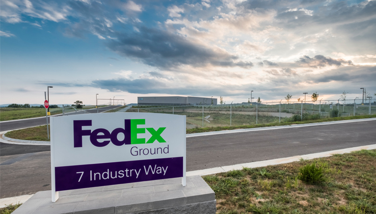 fedex expansion in Staunton