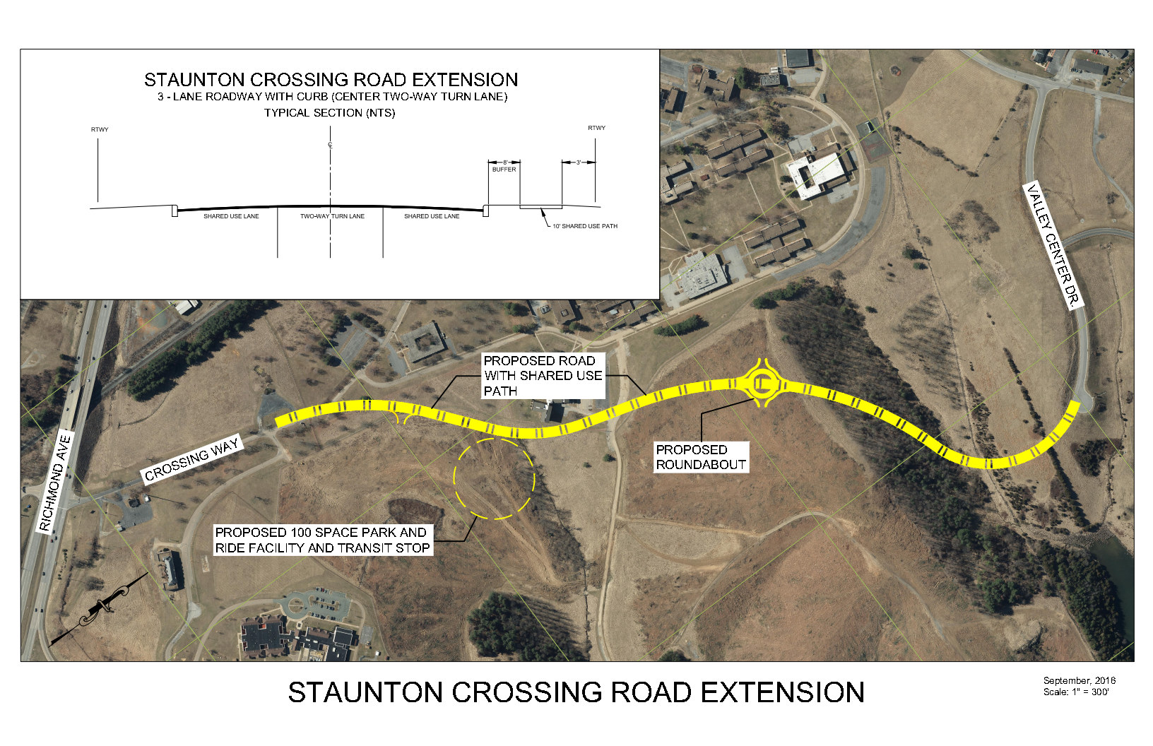 Crossing Way Extension